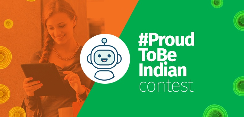 Independence Day Surprise! Introducing Chatbot in Website Overlays #ProudToBeIndian Contest