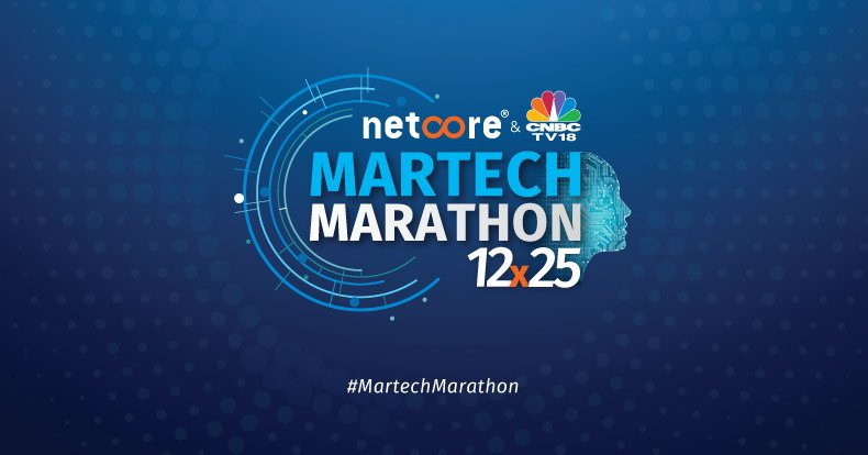 The Martech Marathon 12×25 is here, people!