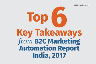 Top 6 Key Takeaways from B2C Marketing Automation Report India 2017