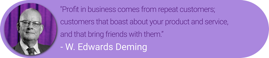 W. Edwards Deming Quote