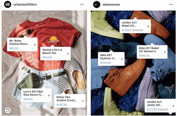 Customized and Shoppable Social Media Feed