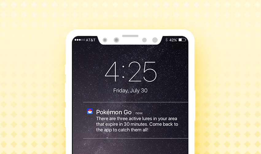 Pokemon Go Push Notifications