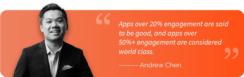 Quote by Andrew Chen - General Partner at Andreessen Horowitz