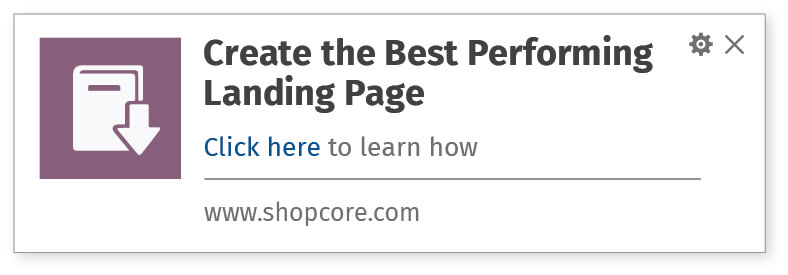 Increase resource downloads by sending relevant website push notifications