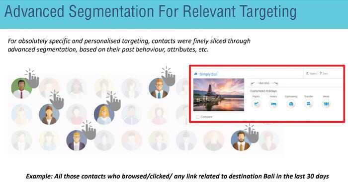 Advanced segmentation for relevant targeting
