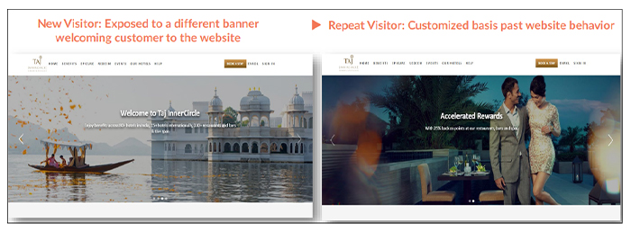 Travel home page Banner