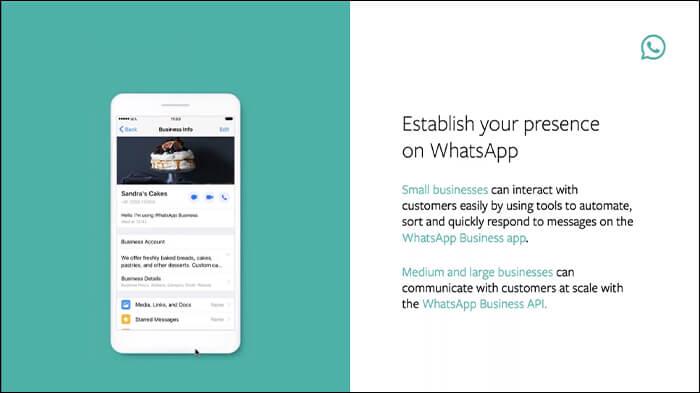 Brands establish presence on WhatsApp for businesses