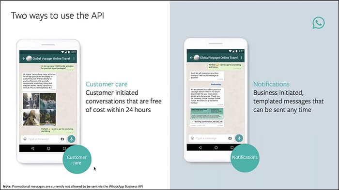 Two Ways to use the API
