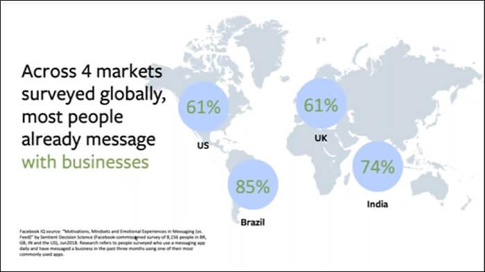 WhatsApp users across the world