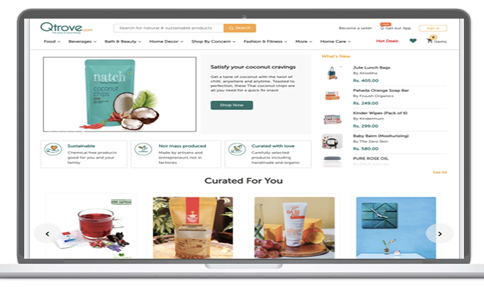 most relevant product recommendations across website home page