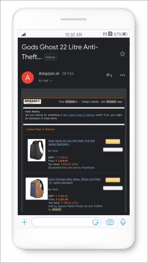 example of a brand that has aced Personalized Email Re-engagement: Amazon