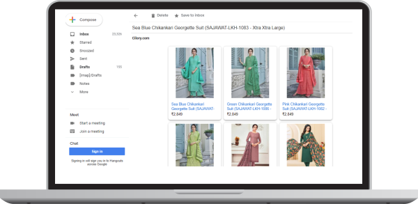 Personalize email campaigns using recommendation engine