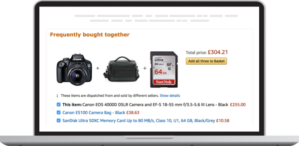 """""""Frequently bought together"""" – The practical approach"""